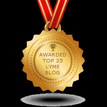 lyme Blog award