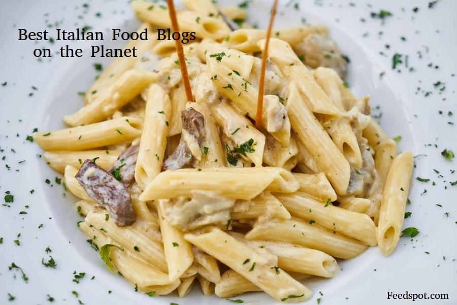 Top 50 italian food blogs websites in 2018 italian for Italian food list