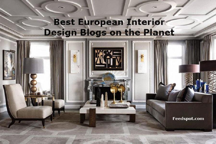 Best Interior Decorating Magazines: Top 40 European Interior Design Blogs, Websites