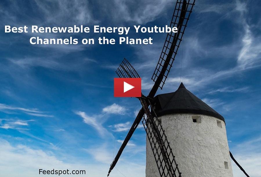 Renewable Energy Youtube Channels